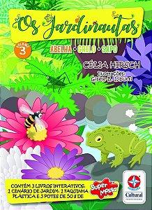 Os Jardinautas - Grilo, Sapo, Abelha - Vol. 3