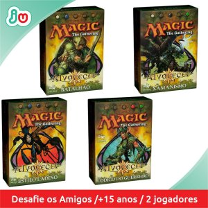 Kit completo Magic The Gattering Alvorecer Decks Construídos