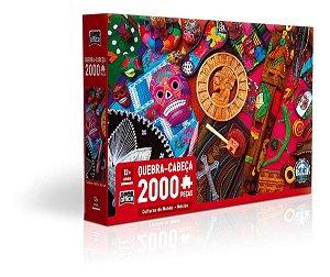 Quebra-cabeça 2000 Pçs Culturas Do Mundo México Game Office