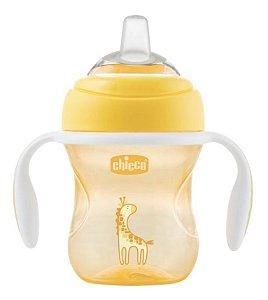 Copo Transition Cup 4m+ Amarelo Girafa