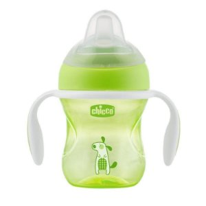 Copo Transition 4m 200ml Chicco Verde Cachorro