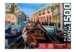 Quebra Cabeça Puzzle 1500 Pet Na Gôndola - Grow