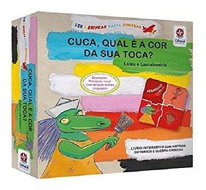Livro Cuca Qual E A Cor Da Sua Toca - Estrela Cultural