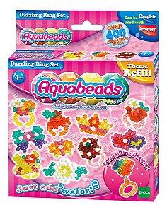 Brinquedo Aquabeads Conjunto Dazzling Ring Set Epoch 79278