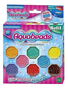 Aquabeads Refil Conjunto Beads Brilhantes Epoch 30678