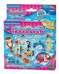 Brinquedo Aquabeads Conjunto Vida Marinha Epoch 30638