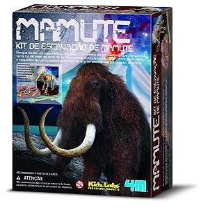 Brinquedo Educativo - Escavação - Mamute - 4m