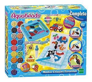 Brinquedo Aquabeads Minhas Criaçoes Favoritas Epoch 30998