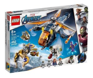 Lego Marvel Ultimato Largada De Helicoptero Hulk 76144
