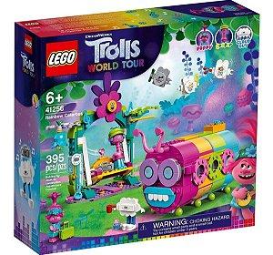 Lego 41256  Trolls O Ônibus Lagarta Arco-iris Com 395 Peças
