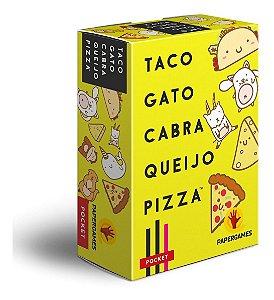 Taco Gato Cabra Queijo Pizza - Jogo De Cartas - Papergames