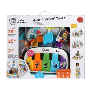 Tapete de atividades 4-IN-1 KICKIN  TUNES MUSIC DISCOVERY