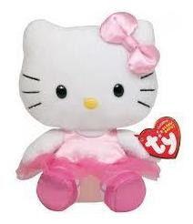 Pelúcia  Hello Kitty Bailarina Ty Dtc