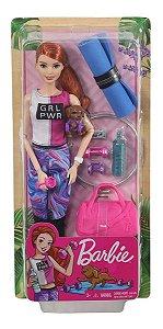Boneca Barbie Fashionista Um Dia De Spa Fitness Mattel