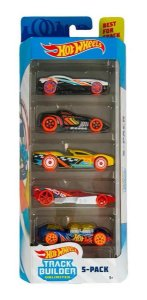 Hot Wheels Conjunto Com Carrinhos Track Builder GHP53