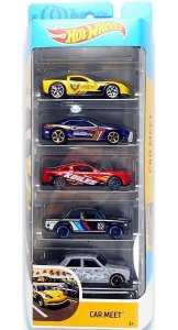 Hot Wheels Conjunto Com 5 Carrinhos Car Meet GHP52