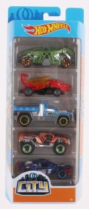 Hot Wheels Conjunto Com 5 Carrinhos City FYL25 Mattel