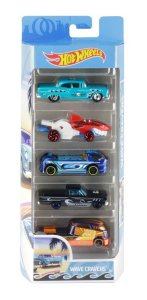 Hot Wheels Conjunto Com 5 Carrinhos Wave Cravers FYL21