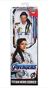 Boneco Marvel's Valkyrie Marvel Avengers Titan Hero Series