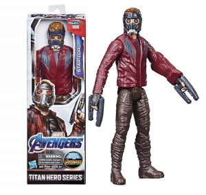 Boneco Marvel Vingadores Star Lord Power Fx Hasbro E3308