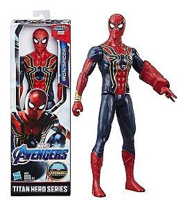 Boneco Marvel Vingadores Homem Aranha Power Fx Hasbro E3308