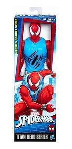 Boneco Homem Aranha Scarlet Spider Titan Hero Series- Hasbro