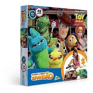 Quebra Cabeça Toy Story 4 Grandão 48 Peças