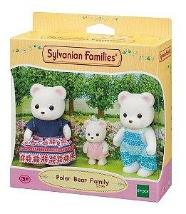 Sylvanian Families Família Dos Ursos Polares Epoch - 5396