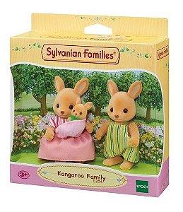 Sylvanian Families Família Dos Cangurus Do Campo Epoch 5394