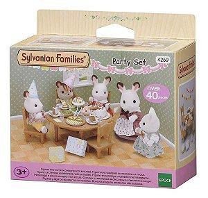 Sylvanian Families Conjunto De Festa Epoch 4269