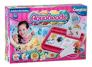 Brinquedo Aquabeads Estação Caneta Arco Iris Da Epoch 30618