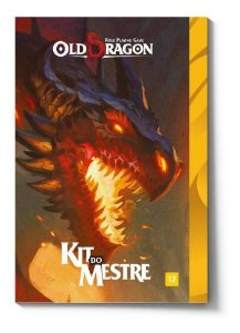 Old Dragon Kit Do Mestre  Rpg Redbox