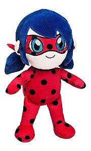 Pelúcia Ladybug  Miraculous  Divirta-se
