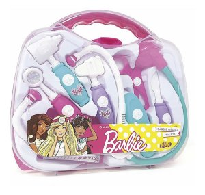 Brinquedo Infantil Kit Maleta De Medica Da Barbie Fun 74966