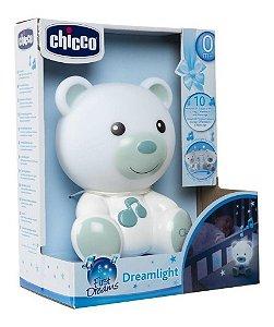 Luminária Ursinho Bons Sonhos Azul Dreamlight Chicco 45892