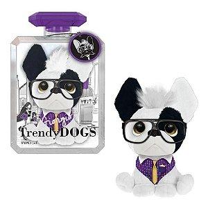 Pelúcia Cachorro Perfumada Trendy Dogs Giorgio Milão 15 Cm