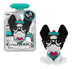 Pelúcia Cachorro Perfumada Trendy Dogs Louis Paris 15 Cm Fun