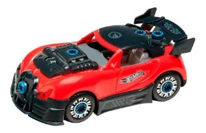 Hot Wheels Carro Tunado Monte E Desmonte  Fun