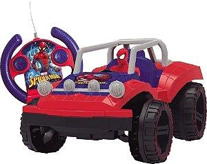Veículo Buggy Hero  Spiderman Pilhas  Candide 5847