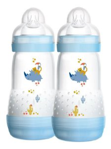 Mamadeira Mam Easy Start 260ml - Emb. Dupla Azul - 4673