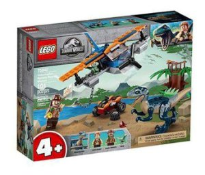 Lego Jurassic World Velociraptor Missão De Resgate Biplano