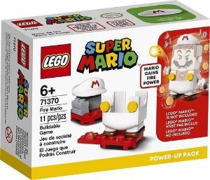 Lego Super Mario  Mario De Fogo Power Up 71370