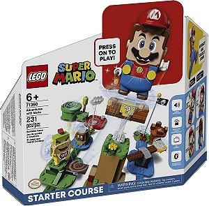 Lego Super Mario  Aventuras Com Mario  Início 71360