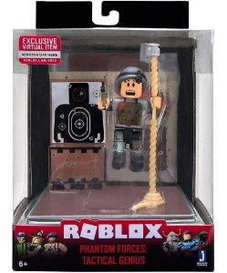 Boneco Roblox Mini Playset Phantom Forces Tactical Genius