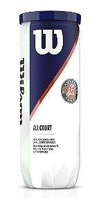 Bola De Tênis Wilson Roland Garros - All Court - 3 Unidades