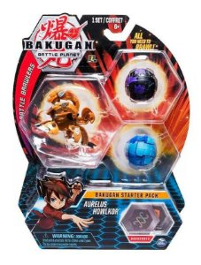 Bakugan Battle Planet Starter Pack Aurelus Howlkor Ultra