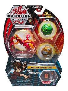Bakugan Battle Planet Starter Pack Pyrus  Mantanoid Sunny