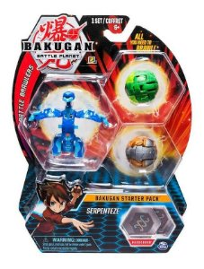 Bakugan Battle Planet Starter Pack Aquos Serpenteze Ultra