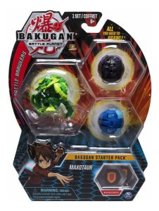 Bakugan Battle Planet Starter Pack Maxotaur  Sunny