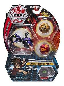 Bakugan Battle Planet Starter Pack Darkus Mantonoid  Sunny